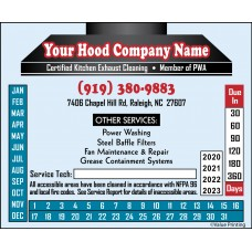 Full Color Hood Sticker #3 (4.25 x 3.5)