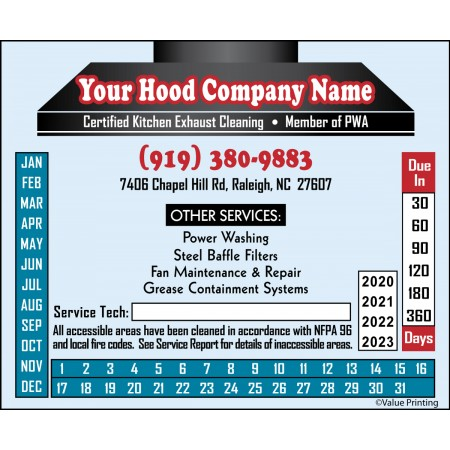 Full Color Hood Sticker #3 (4.25 x 3.5)