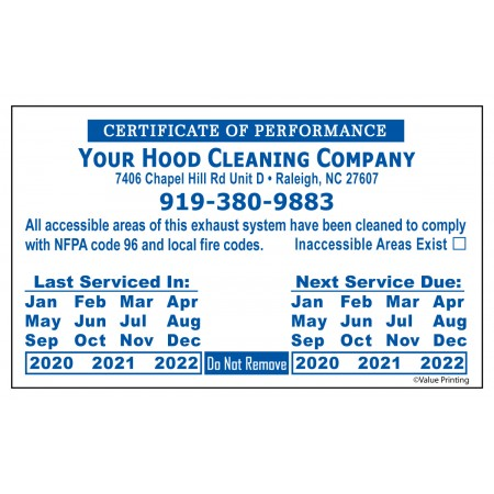 Plain Vinyl or Foil Hood Sticker #20 (3 x 5)