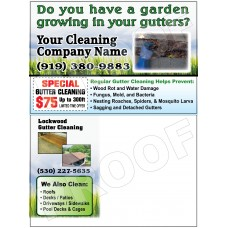 Gutter Cleaning Postcard #1