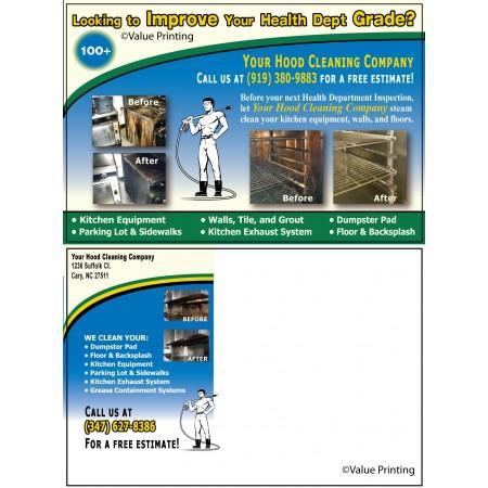 Hood Cleaning Postcard #4