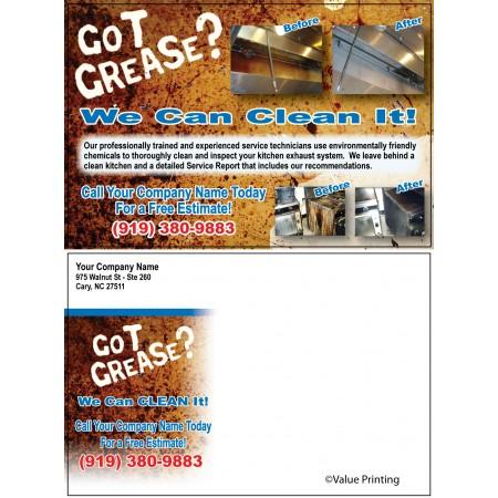 Hood Cleaning Postcard #6