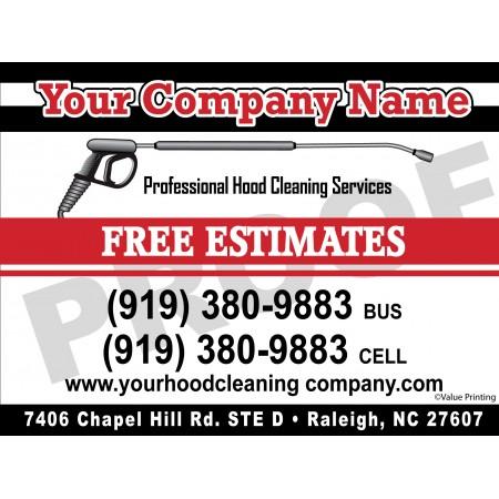 Hood Cleaner Vehicle Magnet #3